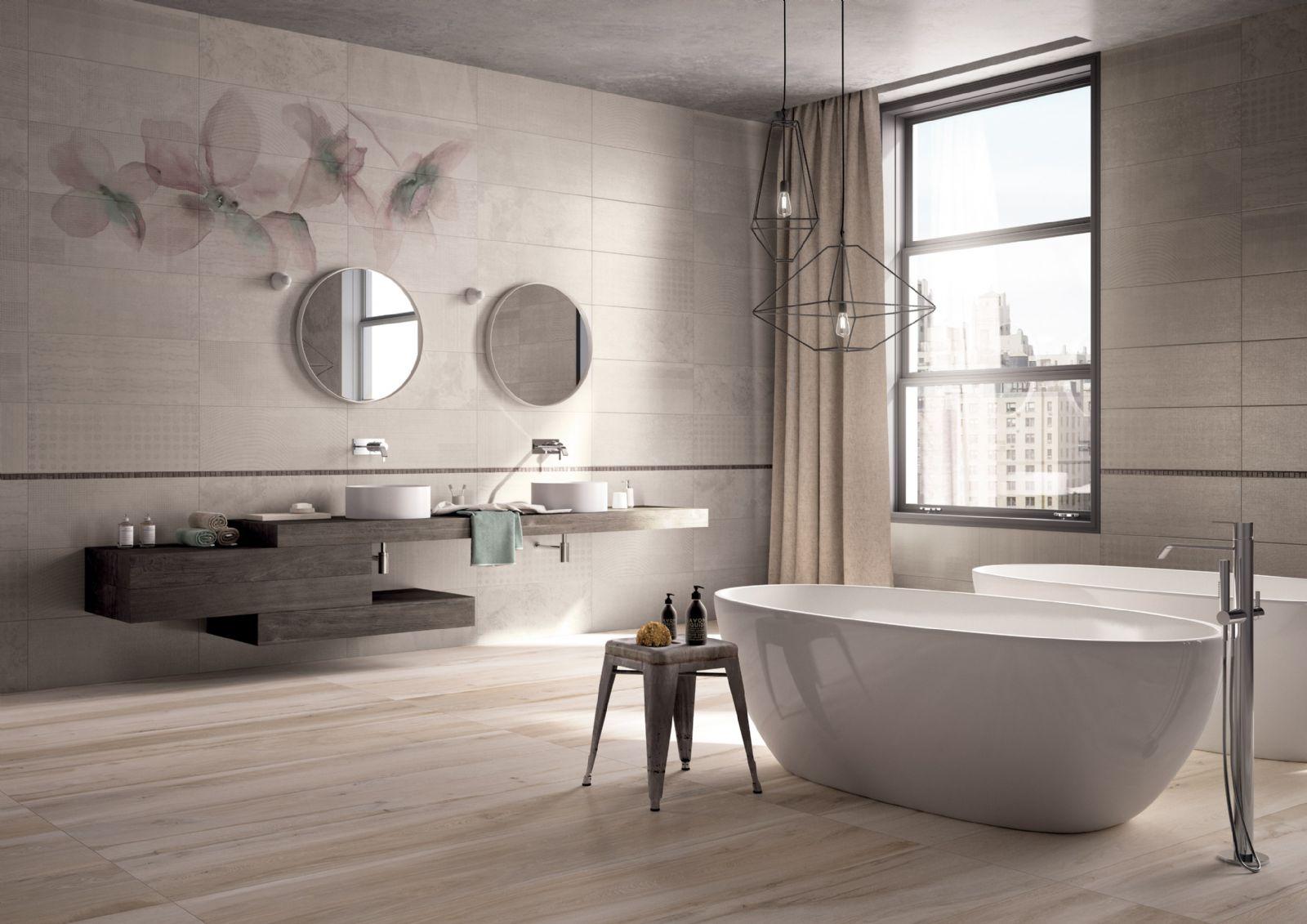 Koupelna v roce 2016 st le vedou p rodn materi ly 3d for Home design e decoro