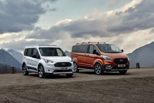Foto: Nové modely Ford Tourneo a Transit Connect Active